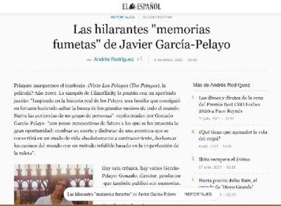 EL ESPAÑOL Javier García-Pelayo Serie Gong en prensa.