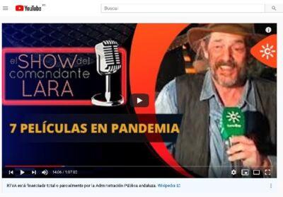 JAVIER GARCÍA PELAYO en El Show del comandante Lara Serie Gong Editorial e1627382000905