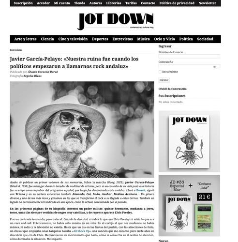 La Razón sobre Javier García-Pelayo
