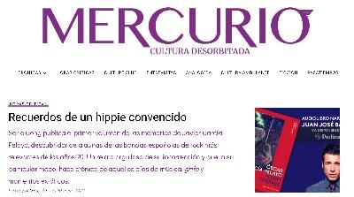 JAVIER GARCÍA PELAYO EN REVISTA MERCURIO