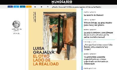 Noticia en MUNDO DIARIO LUISA GRAJALVA