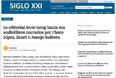 SERIE GONG LIBROS DIARIO SIGLO XXI
