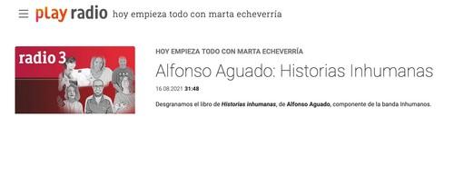 RTVE Alfonso Aguado habla de su último libro